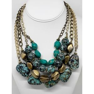 Premier Designs Beaded Multi-Strand Necklace